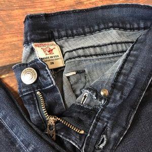"""True Religion Women's Jeans Size 26 Inseam is 28"""""""